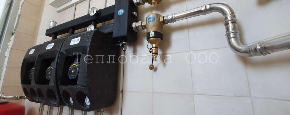 монтаж отопления трубами из нержавеющей стали