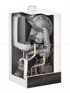 Газовый конденсационный настенный котёл Viessmann Vitodens 100-W 32 кВт одноконтурный